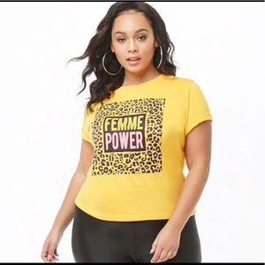 Femme Power Feminist Graphic Tee